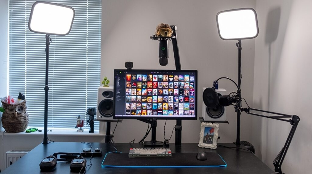 Lights for streaming