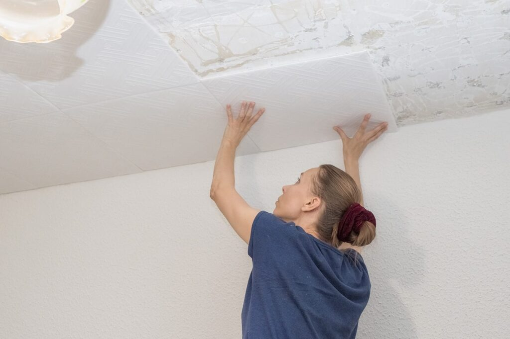 How To Cut Ceiling Light Panels