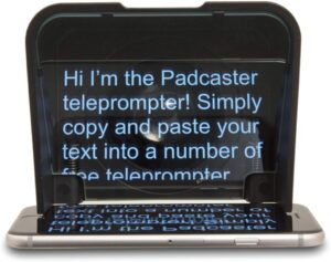 Padcaster Parrot Teleprompter