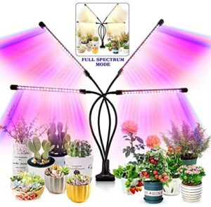 Grow Light for Indoor Plants - Upgraded Version 80 LED Lamps with Full Spectrum & Red Blue Spectrum